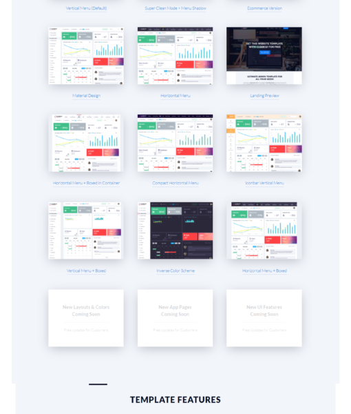 Clean UI- Admin Template Classic + Material Design + Landing Pages + AngularJS Starter Kit