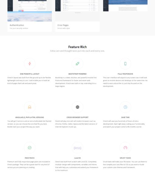 OneUI - Admin Dashboard Template & UI Framework demo