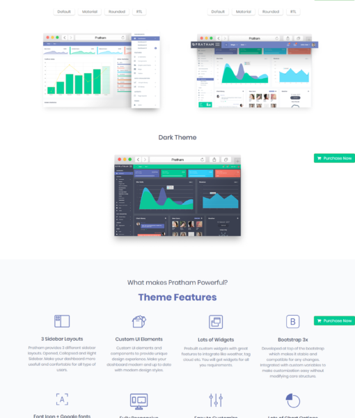 Pratham-The most powerful admin Template