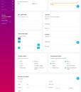 purple admin template