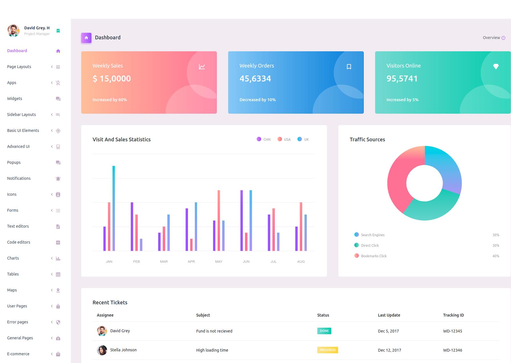 purple  premium templates