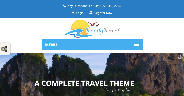 trendy travel